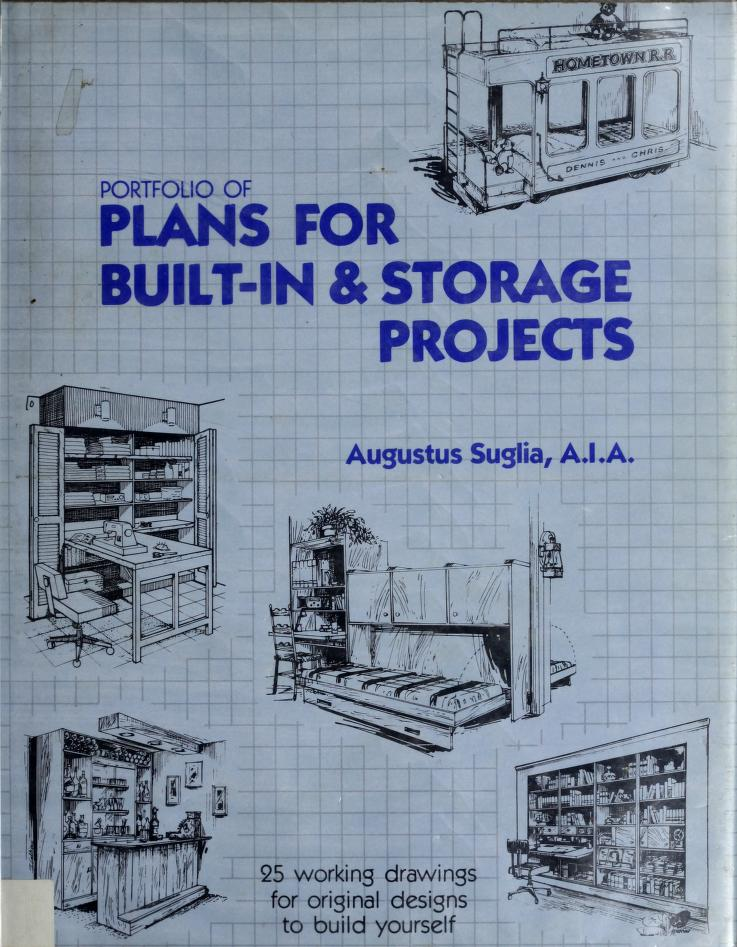 Portfolio of plans for built-in & storage projects by Augustus Suglia