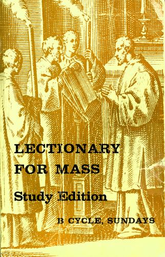 Download Lectionary for Mass