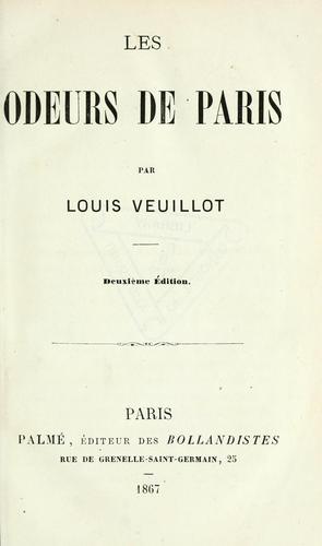 Download Les odeurs de Paris