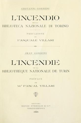 Download L' incendio della Biblioteca nazionale di Torino.