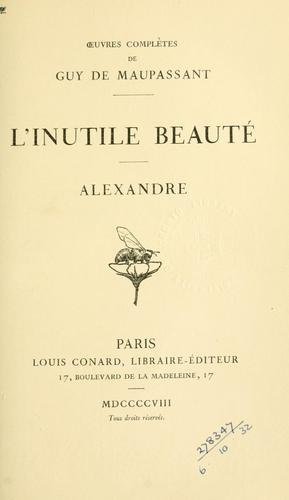 Download L' inutile beauté.