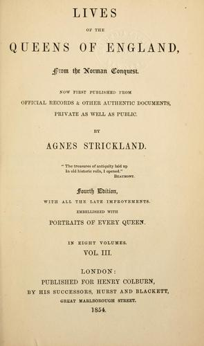 Download Lives of the queens of England
