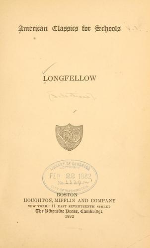 Longfellow.