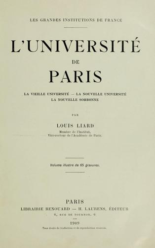 L' Université de Paris