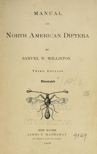 Manual of North American Diptera