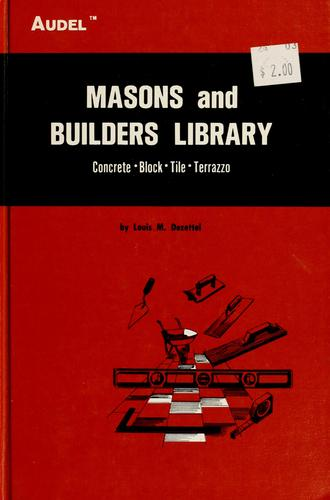 Masons and builders library