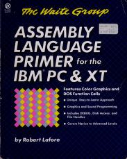 Cover of: Assembly language primer for the IBM PC & XT | Robert Lafore