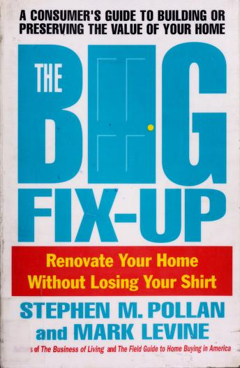 Cover of: The big fix-up | Stephen M. Pollan