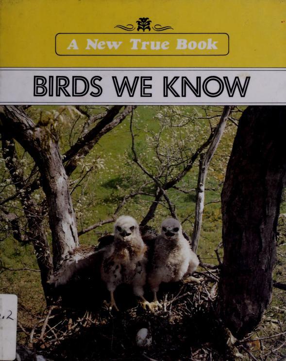 Birds we know by Margaret Friskey