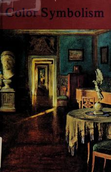 Cover of: Color symbolism | Adolf Portman ... [et al.]