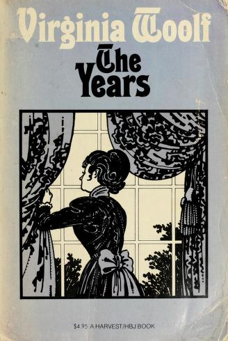 Cover of: The years | Virginia Woolf