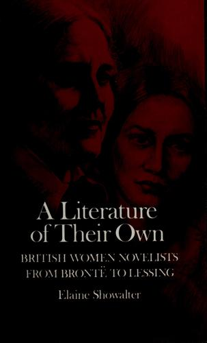 A literature of their own by Elaine Showalter