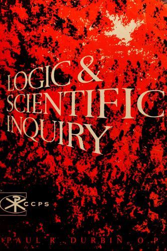 Logic and scientific inquiry