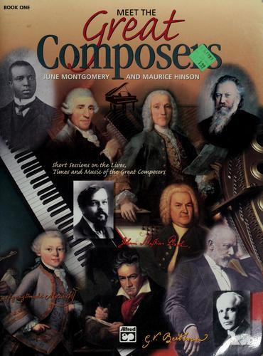 Meet the great composers by June Montgomery