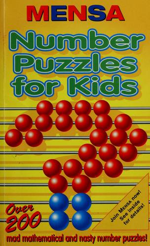 Mensa number puzzles for kids by Harold Gale